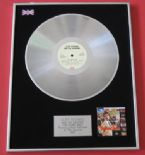 CLIFF RICHARD & THE SHADOWS - The Young Ones PLATINUM LP PRESENTATION Disc